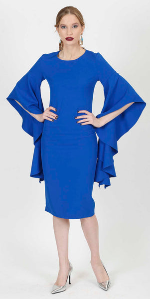 CLARA COCKTAIL DRESS BLUE