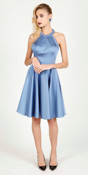MAUDE BABY BLUE DRESS