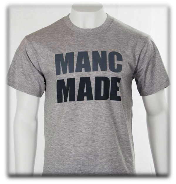 MANCMADE T-Shirt - Grey
