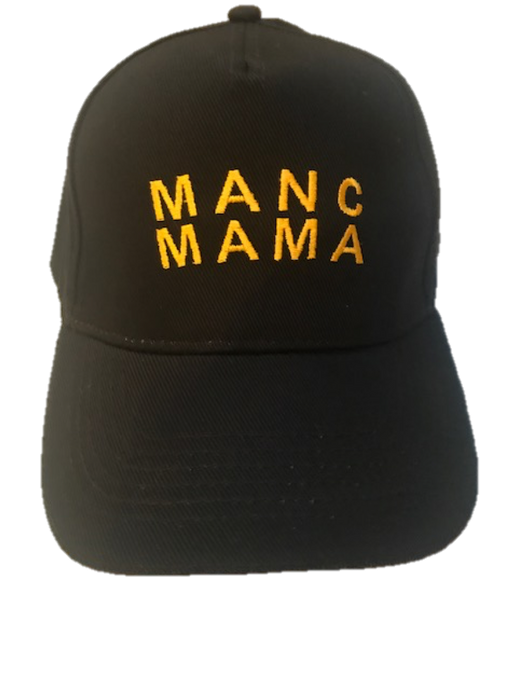 MANC MAMA -  Cap - Black/Gold
