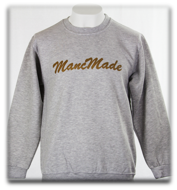 MANCMADE -Grey/Rose Gold Sweatshirt
