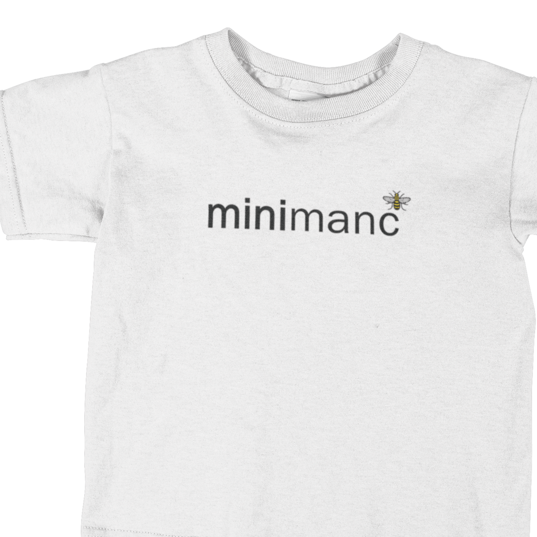 MiniManc T-Shirt - Kids - White NOW £10