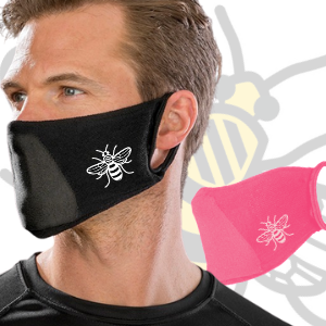 BeeManc Washable Face Mask - 3 Pack
