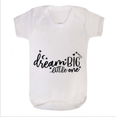 Dream Big Little One Short Sleeve Body