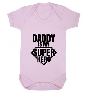 Daddy is my Super Hero Short Sleeve Body