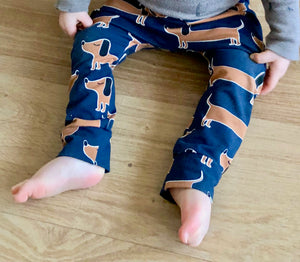 Sausage Dog Jersey Leggings
