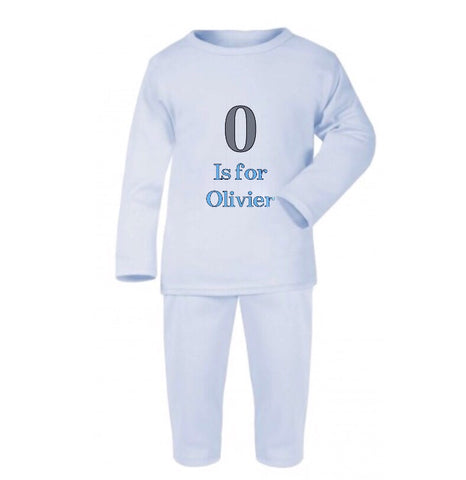 Personalised Name Baby's Loungewear