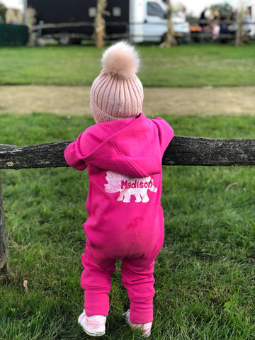 Personalised Dinosaur Fleece Onesie