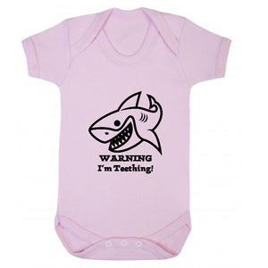 Warning I'm Teething Short Sleeve Body