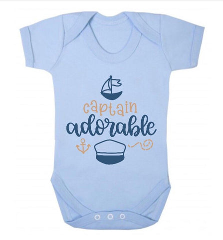 Captain Adorable Short Sleeve Body