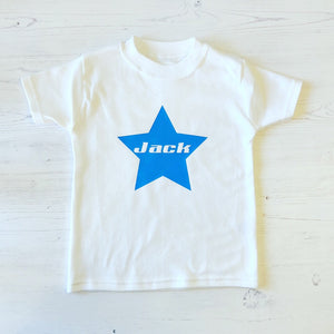 Personalised Star Short Sleeve Body