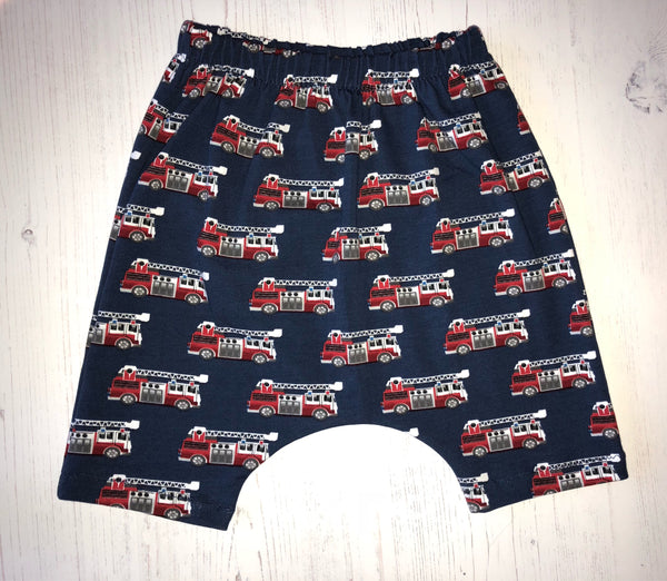 Mountain Wolf Harem Jersey Shorts