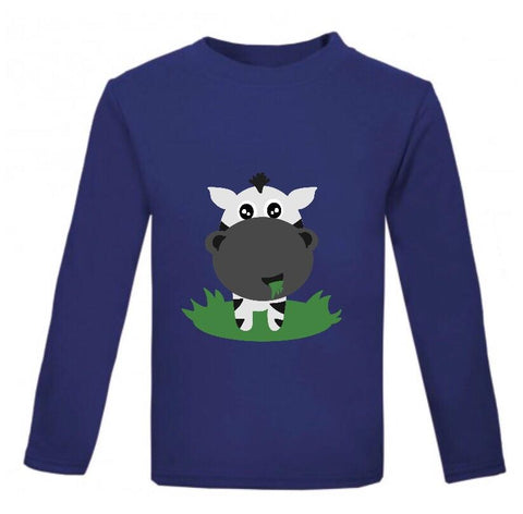 Cute Animal Long Sleeve Top