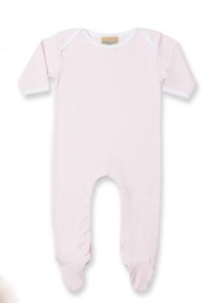 Personalised Giraffe Baby Sleepsuit