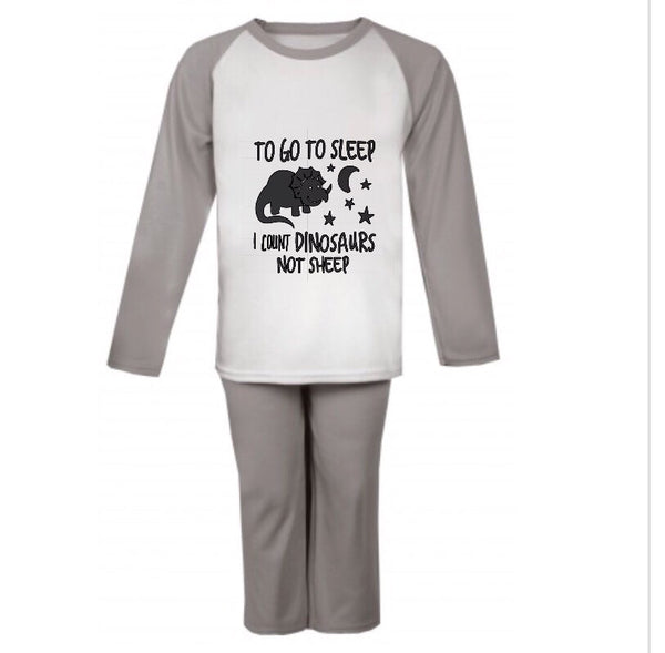 I Count Dinosaurs Children's Loungewear