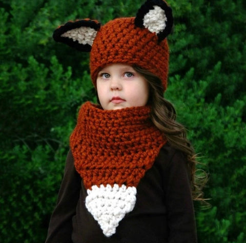 Fox Hat and Scarf