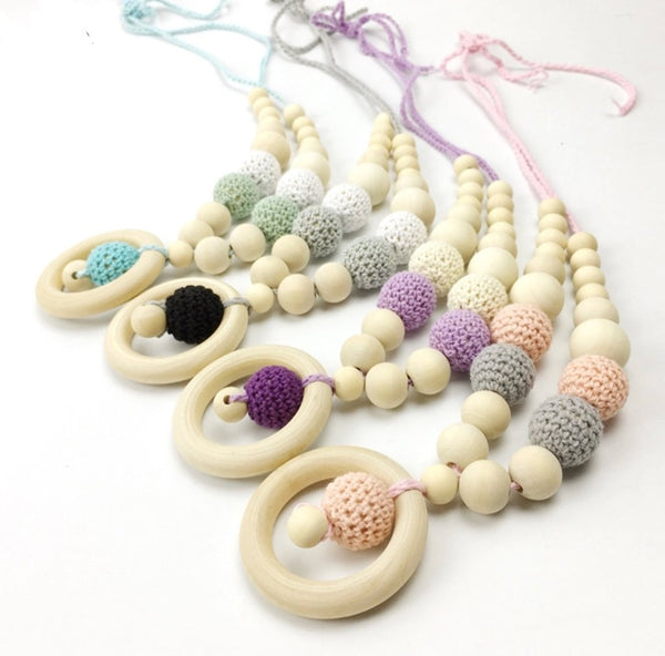 Organic Teething Necklaces
