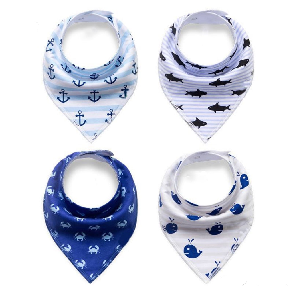 Seaside Adventure Collection of Bibs