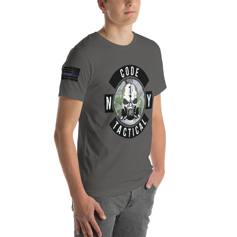 Code 1 Tactical New T-shirt With Tim Kennedy Quote And Thin Blue Line Flag!