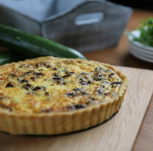 Gluten Free Roasted Vegetable Quiche