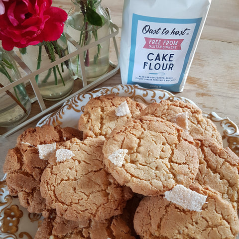 Gluten Free Ginger Biscuit Recipe