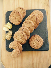 Farm house style ginger biscuits