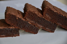 Letterbox Brownies made with Dark Belgian Chocolate