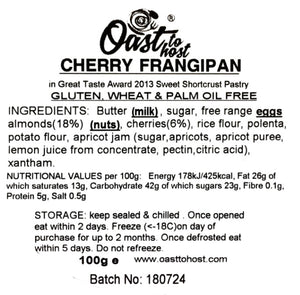 Gluten and Wheat Free Cherry Frangipani - Case of 5 or 10