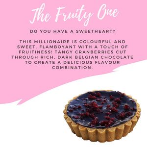 The Fruity One - Millionaires Tart