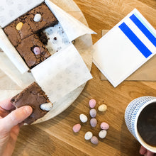 Letterbox Mini Egg Brownies