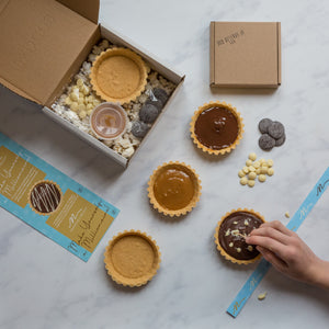 'Make yourself a Millionaire' Kit - Everything you need to make 1 'Millionaire' tart!