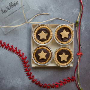 Chocolate Millionaire Mince Pies