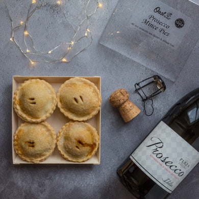 Prosecco Mince Pies (Great Taste Award Winning) 4 or 9 pies