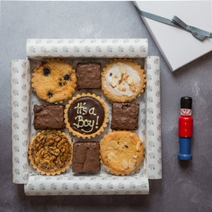Tea Time Selection Box with personalised millionaire