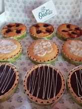 A Mix and match of our Frangipani, Bakewell and Millionaire Tarts