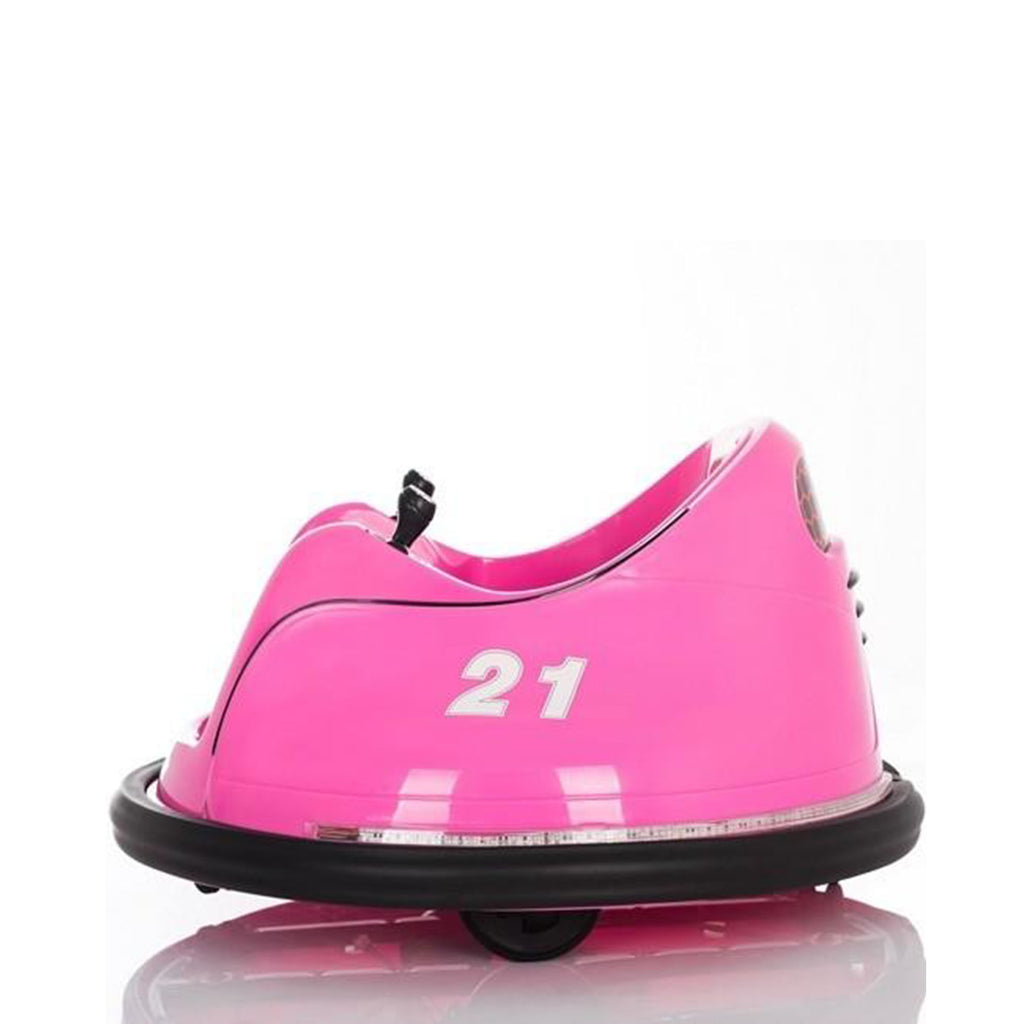 12V Children's Waltzer Car Battery Operated Electric Ride On Toy - Pink