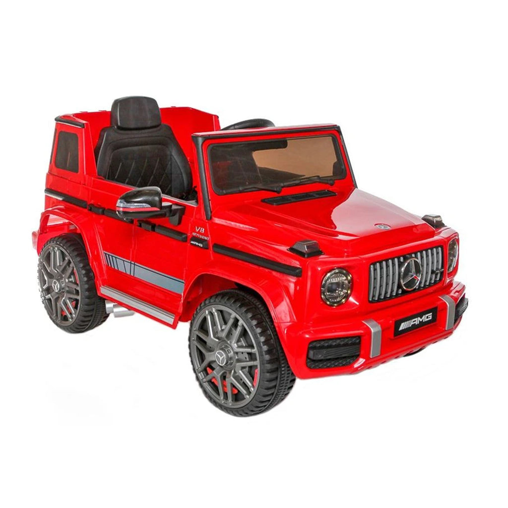 Fully Licensed Mercedes Benz G63 AMG- 12V Battery Electric Ride on Car 2019- Red