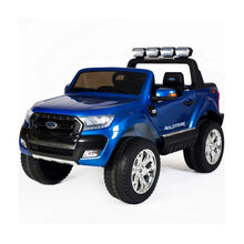 Load image into Gallery viewer, Ford Ranger Wildtrak Licensed 4WD 24V Battery Ride On Jeep - Blue