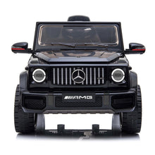 Load image into Gallery viewer, Fully Licensed Mercedes G63 amg suv 12v electric ride on jeep- black