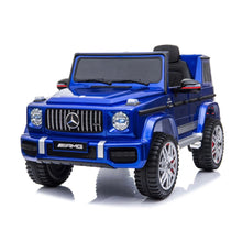 Load image into Gallery viewer, Fully Licensed Mercedes Benz G63 AMG 12V Battery Electric Ride on Car 2019- BLUE