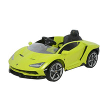 Load image into Gallery viewer, LAMBORGHINI CENTENARIO FULLY LICENSED 12V CHILDRENS RIDE ON CAR WITH 2.4G PARENTAL REMOTE- GREEN