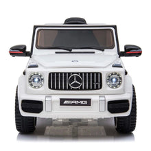 Load image into Gallery viewer, Fully Licensed Mercedes G63 AMG suv 12v electric ride on jeep big size- white
