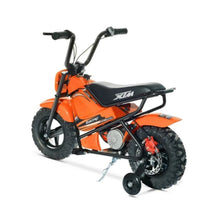 Load image into Gallery viewer, KIDS ELECTRIC 250W MINI DIRT BIKE MINI MOTO PIT SCRAMBLER BIKE 24V BATTERY HP108- Orange