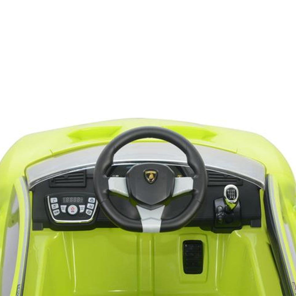 LAMBORGHINI CENTENARIO FULLY LICENSED 12V CHILDRENS RIDE ON CAR WITH 2.4G PARENTAL REMOTE- GREEN