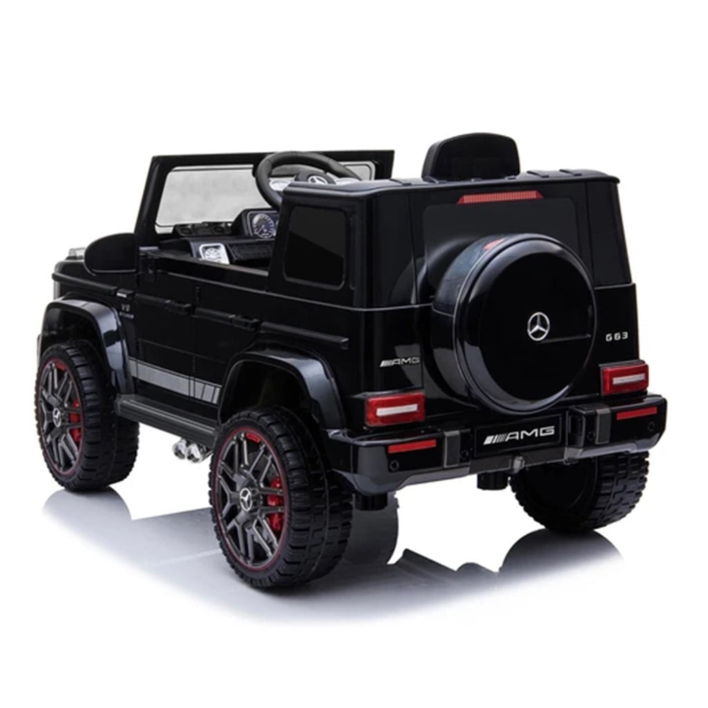 Fully Licensed Mercedes G63 amg suv 12v electric ride on jeep- black