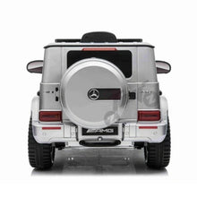 Load image into Gallery viewer, Fully Licensed Mercedes Benz G63 AMG 12V Battery Electric Ride on Car BIG SIZE(BBH003) - Metallic Silver