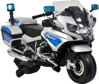 12v BMW R1200 Police Electric Ride On Motorcycle - Silver