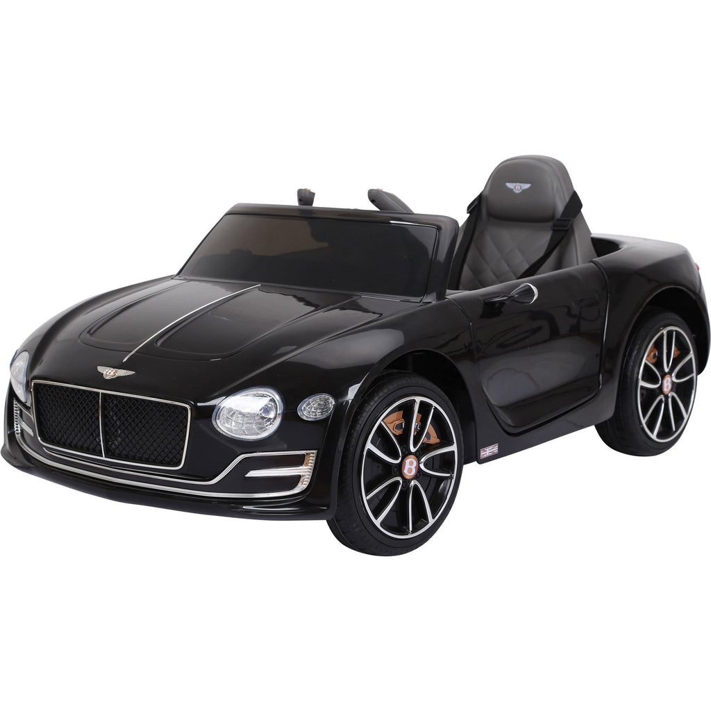 Licensed Bentley GT EXP12 12V Kids Electric Ride On Car - Black