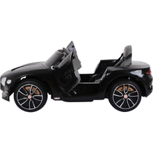 Load image into Gallery viewer, Licensed Bentley GT EXP12 12V Kids Electric Ride On Car - Black