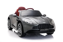 Load image into Gallery viewer, Aston Martin DB11 Children's electric ride on car with parental control- Grey